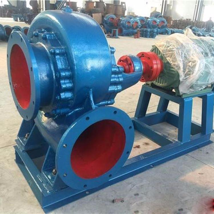 奧泉泵業直銷 HW臥式混流泵 防澇排水離心泵 柴油機軸流泵 耐磨渣漿泵 無堵塞污水處理泵