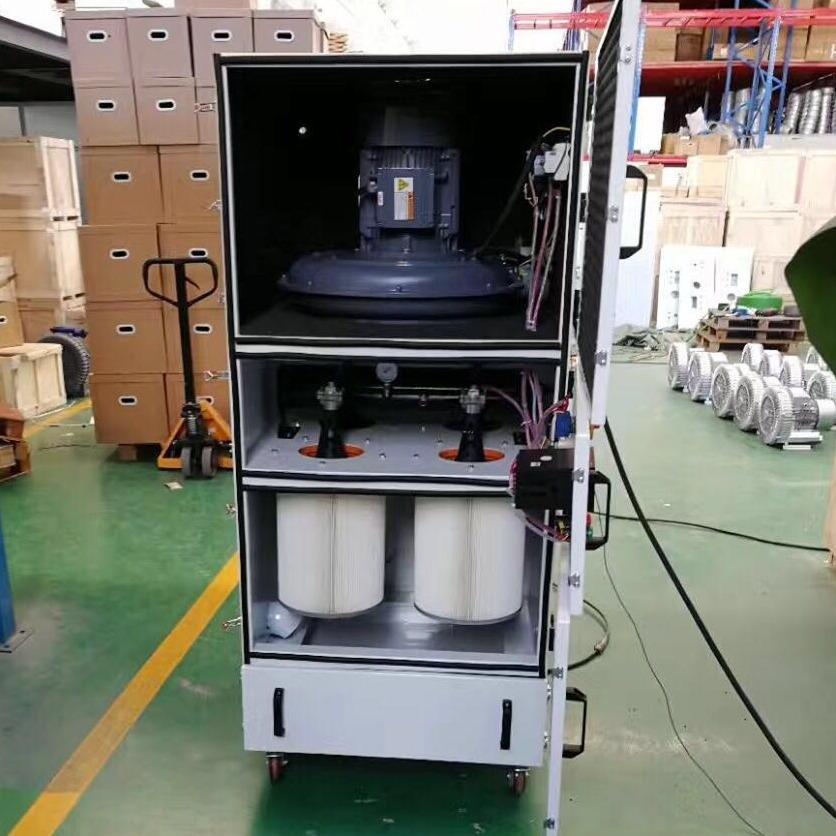 工業碳素粉塵收集專業脈沖反吹集塵器  環保 環評專用工業集塵機 粉塵收集集塵器