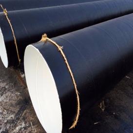 加强级两布七油防腐螺旋钢管 内外防腐螺旋钢管生产厂家