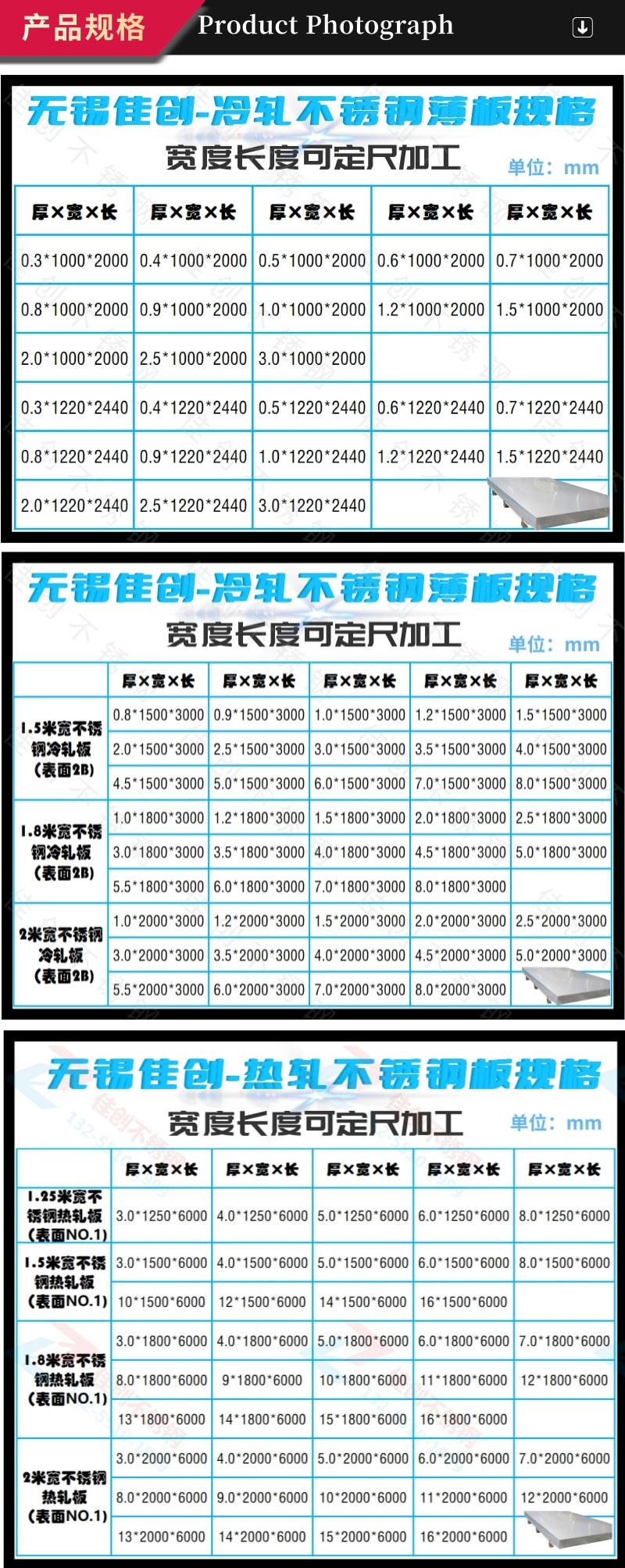 4月20號不銹鋼板304價格表 今日304不銹鋼板材報價示例圖21