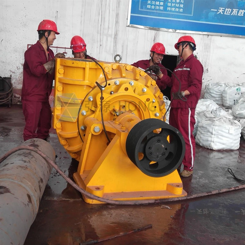 河北弘源1.5/1B-AH臥式渣漿泵 高鉻合金抽吸沙清淤泥 礦渣尾礦耐磨分數泵 泥漿泵