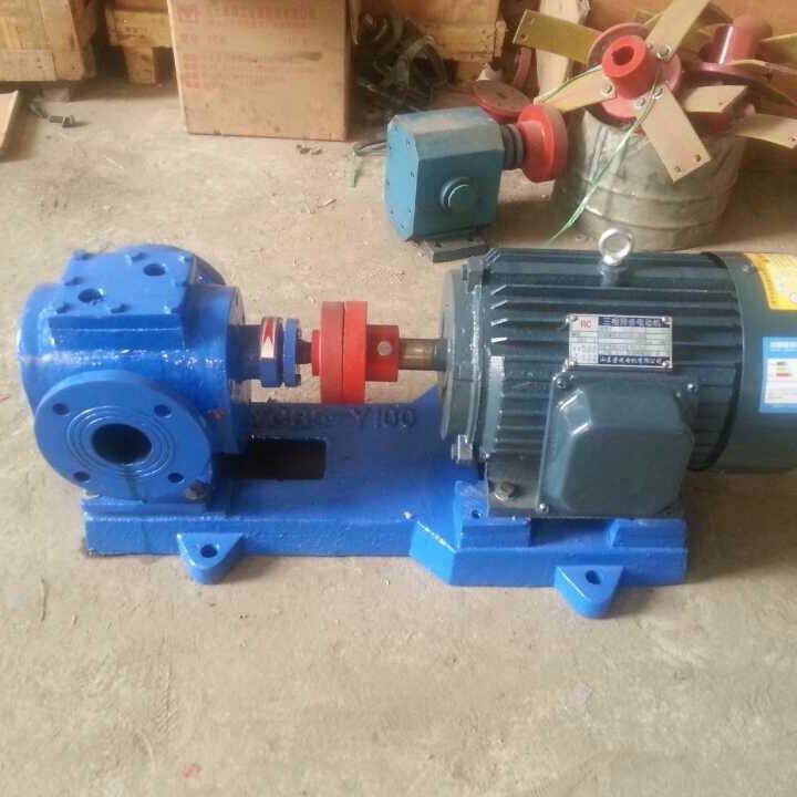 滄州廠家直銷 YCB-G保溫齒輪泵 鑄鋼材質保溫泵 保溫齒輪泵壓力穩定