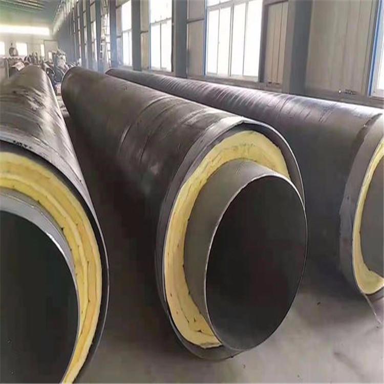 龙都管道供应 缠绕型保温钢管 预制直埋钢套钢蒸汽保温管 耐高温钢套钢蒸汽保温管 直埋蒸汽保温管道