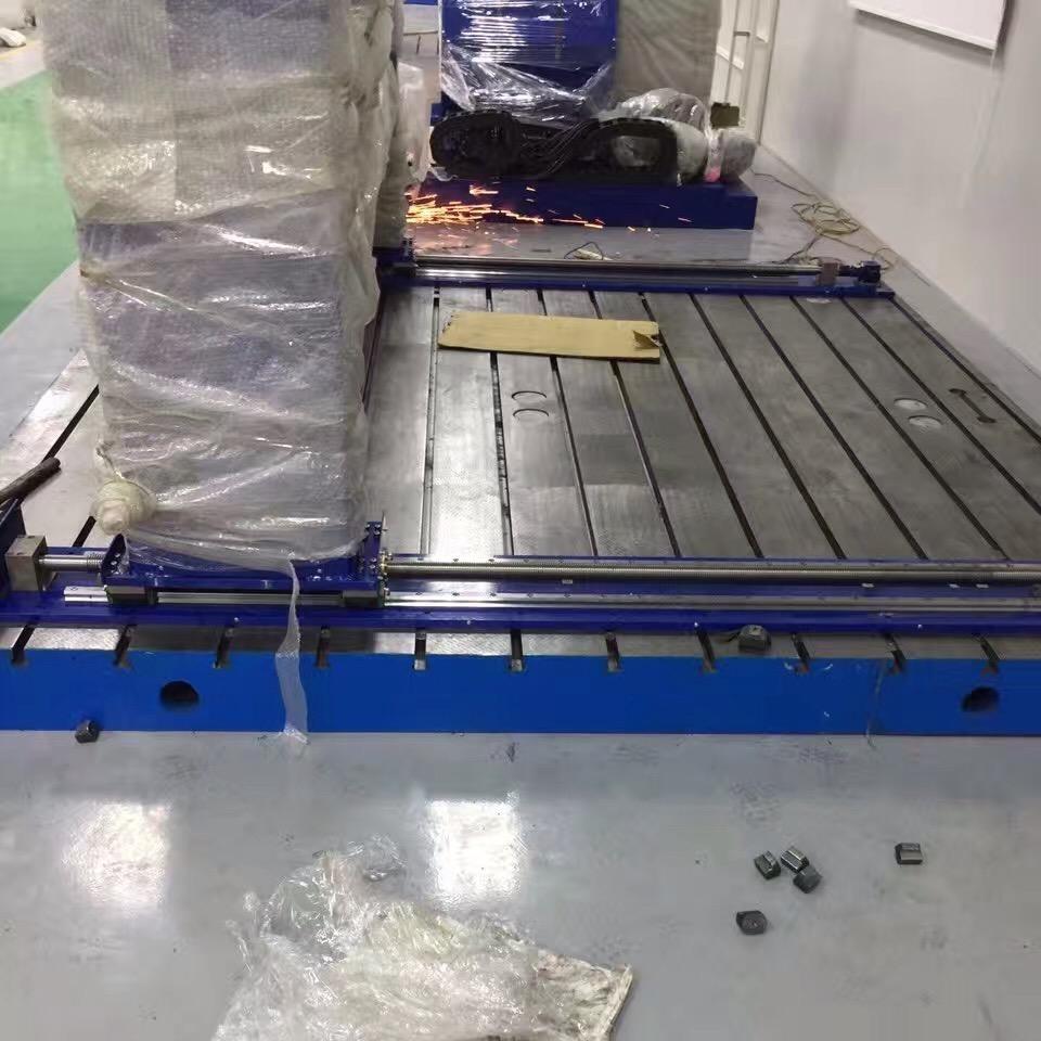 铸铁实验平台 电机试验台 震动试验台 研发生产型企业泊头亮健机械