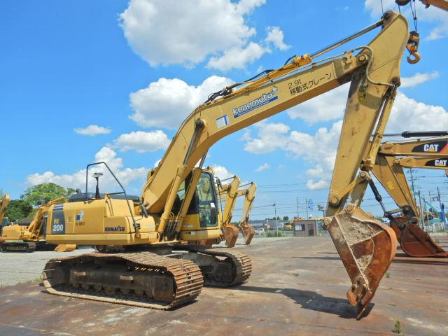 小松PC200-8N1原装进口二手挖掘机价格 二手大型挖掘机出售示例图3