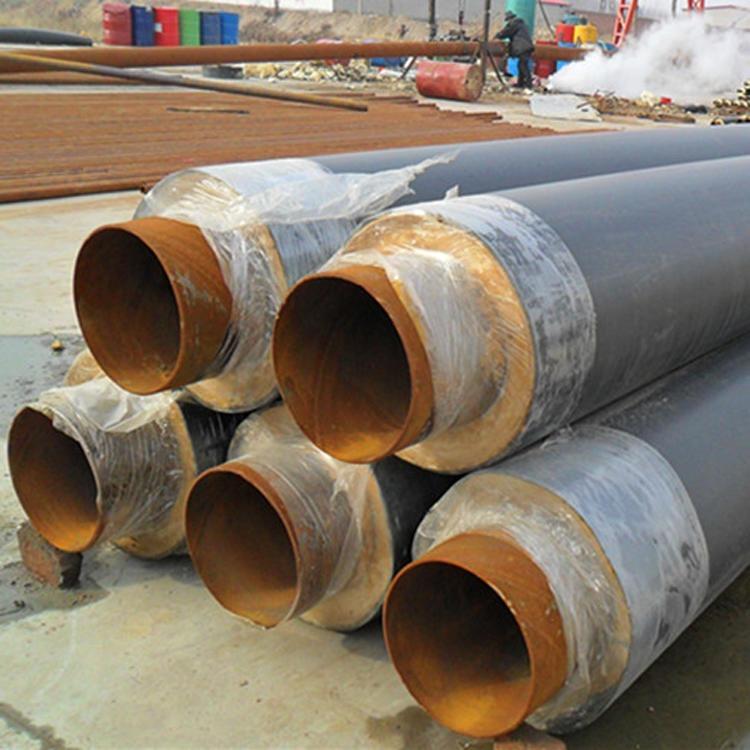 聚氨酯發泡保溫螺旋鋼管 厚東出售現貨 聚氨酯巖棉保溫鋼管 熱力管道聚氨酯發泡保溫鋼管 樣式齊全