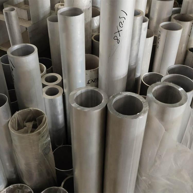 厂价批发6061 6063大口径厚壁铝管工业用铝合金管铝型材量大优惠示例图2