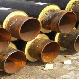 龍都管道直銷  聚氨酯保溫管大口徑 加工黑夾克保溫管 定制非標高密度聚乙烯保溫管