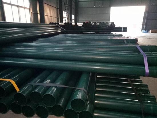防静电电力穿线涂塑钢管 热浸塑电缆保护钢管 电力专用涂塑钢管价格