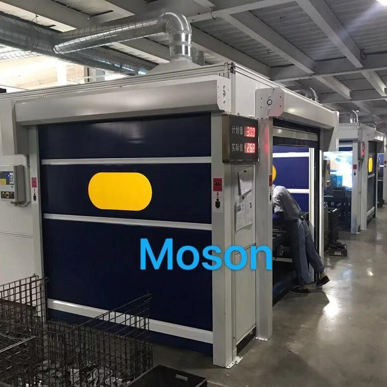 Moson品牌 機器人焊接房 焊接防護房 機器人焊接工作站