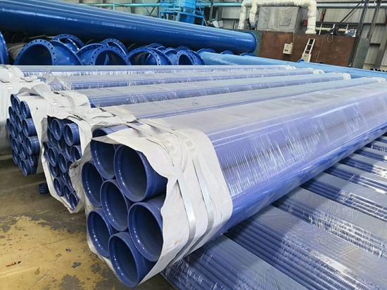 供应环氧复合钢管 环氧树脂涂塑钢管 杰胜管道直销