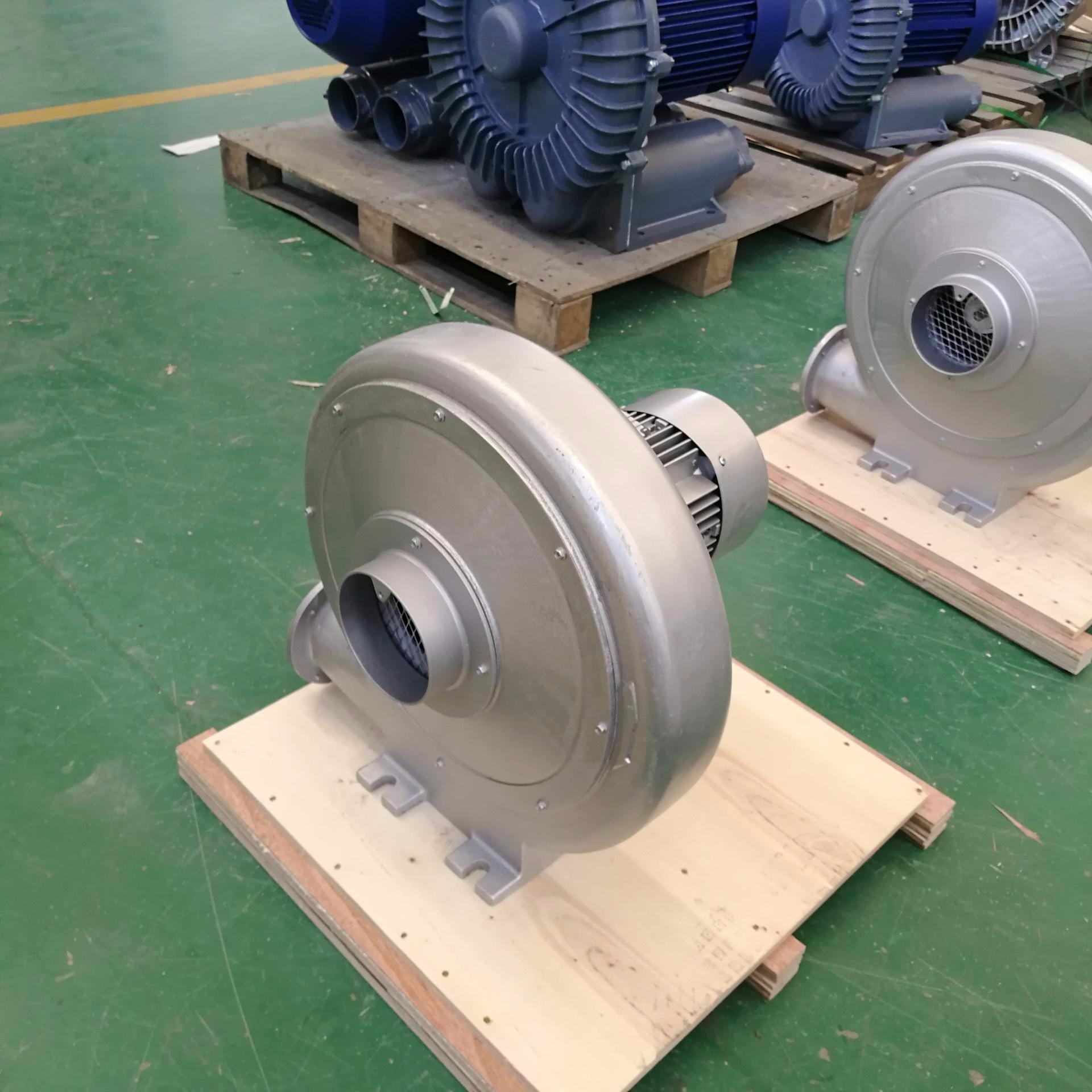 CX1/4透浦式中壓鼓風機 0.2KW送風鼓風機 低噪音中壓風機