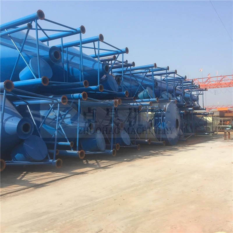 濟源市30噸水泥罐 50噸60噸水泥罐價格 小型攪拌站用水泥倉價格 加厚水泥罐加工定制