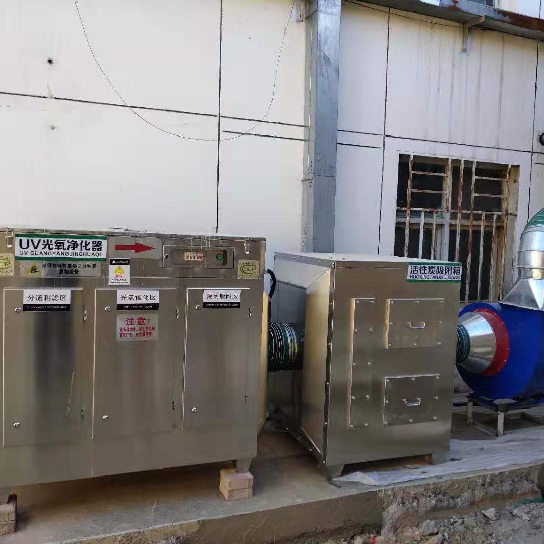 山东万聚环境工程咨询、UV光氧设备、活性碳吸附箱、喷淋塔