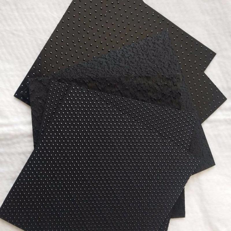 厂家直销现货生产黑色国标HDPE1.0mm 1.2mm 2.0mm防渗土工膜