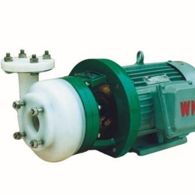 FSB-D  全塑离心泵 耐腐蚀卧式离心泵 F46四氟耐酸碱离心泵 氟塑料卧式化工泵 博特制造