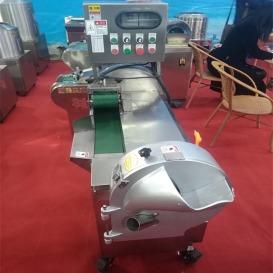 商用食堂厨房设备大型全自动切菜机双机头不锈钢切菜机