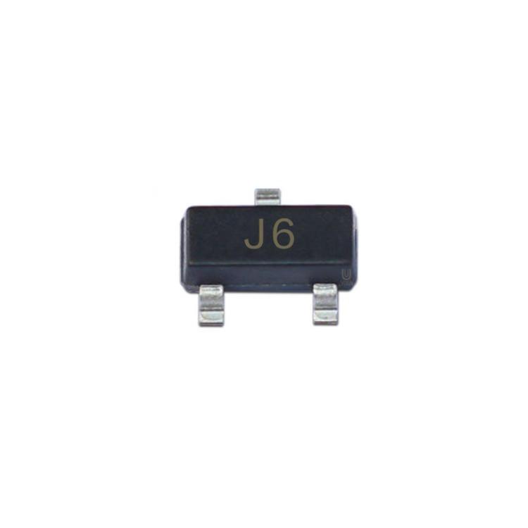 揚杰  小信號三極管  S9014  貼片三極管  封裝 SOT23  絲印 J6