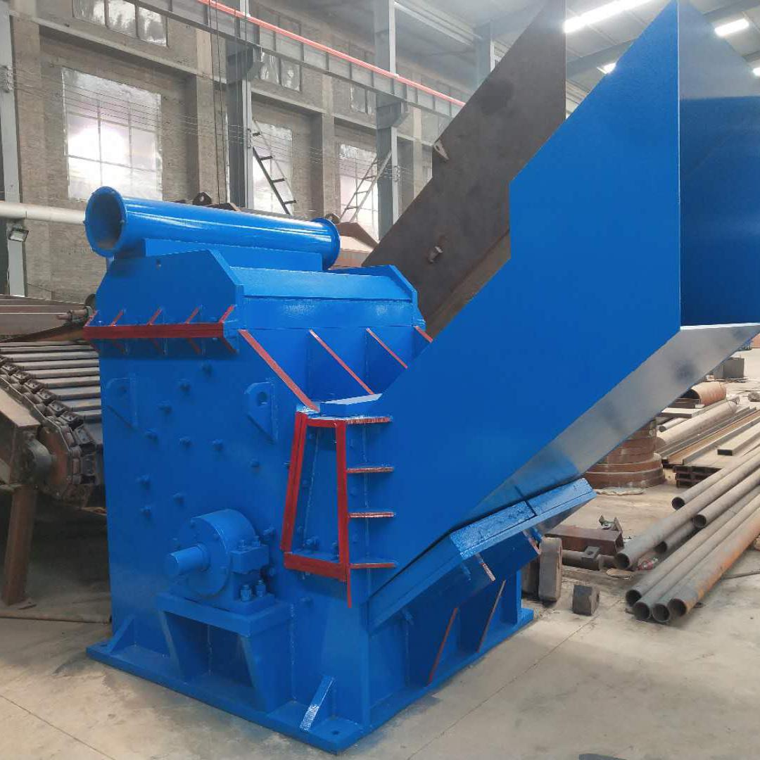 废铁破碎机生产厂家 800-3000型废钢铁粉碎机 废钢破碎线 诺德机械制造示例图8