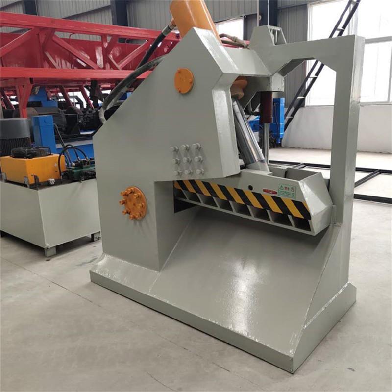 厂家生产重型虎头剪 卧式废金属槽钢液压剪切机 钢筋切断机 液压废钢剪切机