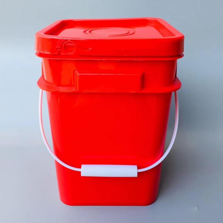 15升塑料桶厂家直销  15公斤方形塑料桶专卖