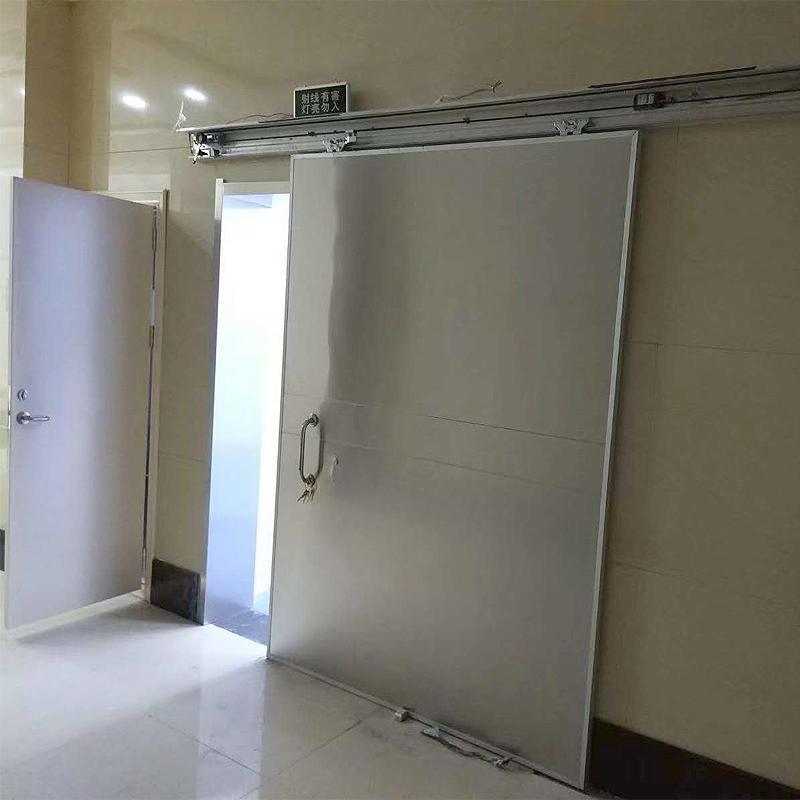 支持定制 規格齊全 貴陽市鉛門 CT室電動鉛門 dr室防護鉛門價格 京盛
