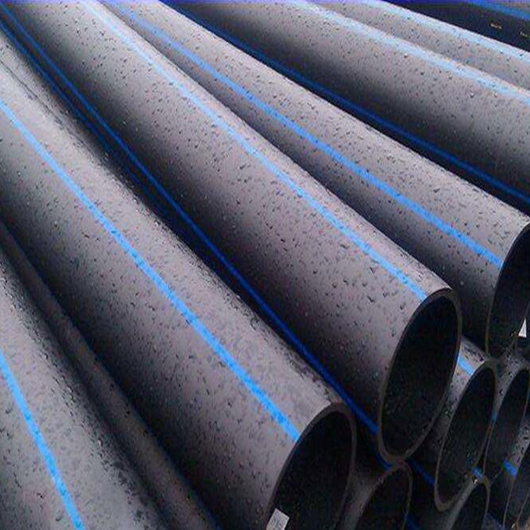 廠家直銷 聚乙烯PE給水管材 HDPE給水管 PE管90mm 黑色塑料給水管 四川埋地PE管 自來水管廠家