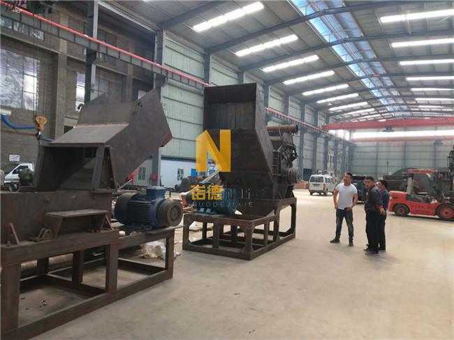 废铁破碎机生产厂家 800-3000型废钢铁粉碎机 废钢破碎线 诺德机械制造示例图1