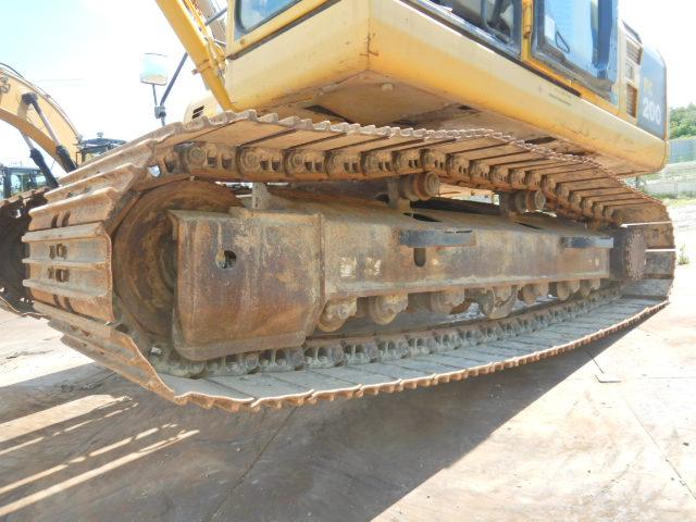 小松PC200-8N1原装进口二手挖掘机价格 二手大型挖掘机出售示例图8