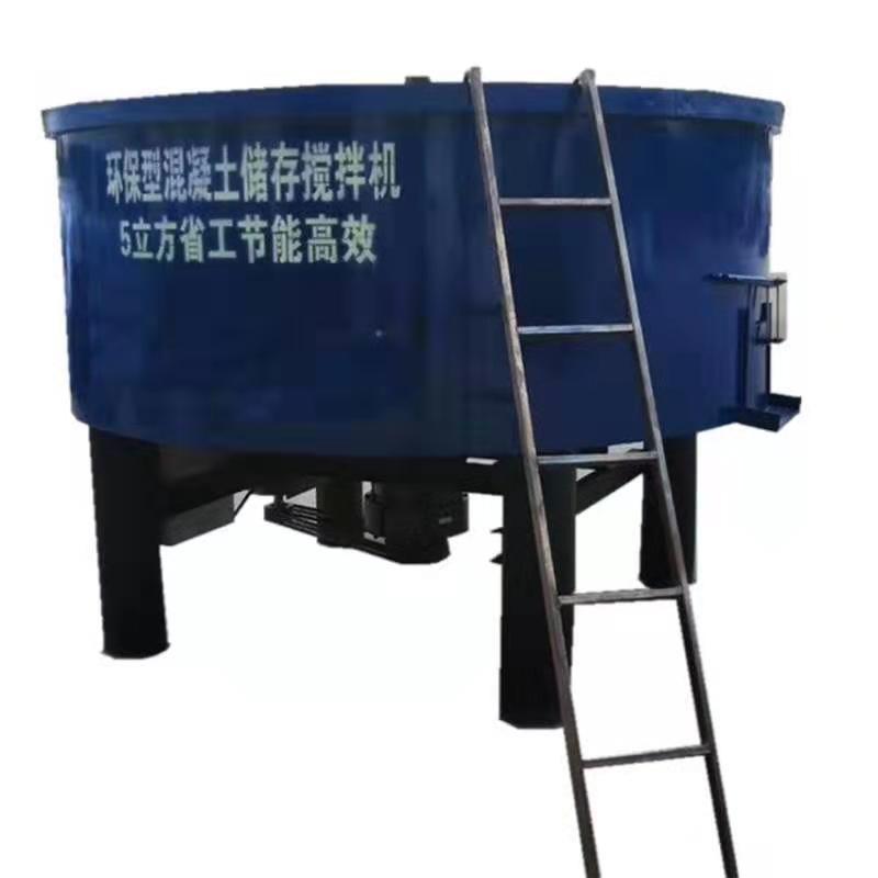 厂家直销亿顺五立方灌 平口立式搅拌机 砂浆搅拌机 储存罐适用建筑工地。