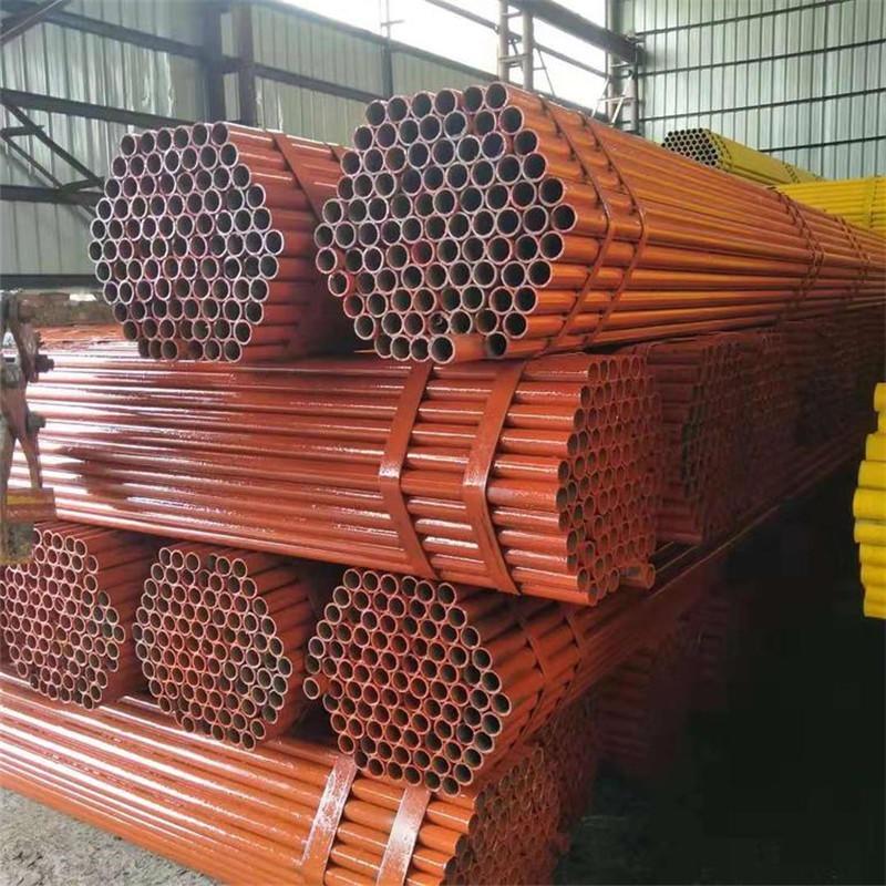 1.5寸脚手架管定做 天江 48脚手架管供应 喷漆架子管加工