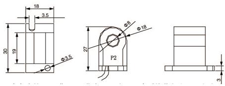 安科瑞,测量型电流互感器,AKH-0.66-60I,额定电流比1000-2500/示例图24