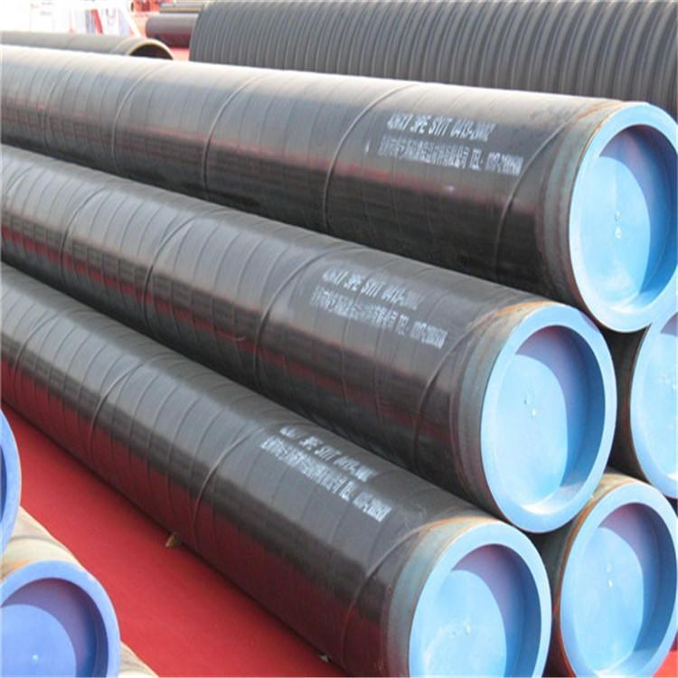 淮南排污用3pe防腐钢管厂家 地埋30年使用寿命防腐钢管