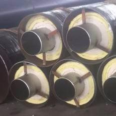 龍都管道  直埋鋼套鋼蒸汽保溫管 預制直埋鋼套鋼蒸汽保溫管 直埋預制蒸汽保溫管