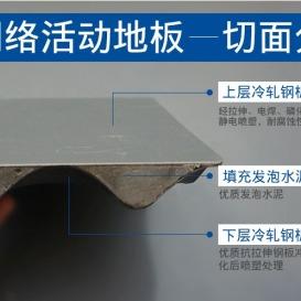 北京网络办公地板厂商  医院机房网络地板   向利网络活动机房地板  濮阳屏蔽机房建设-----济南向利厂家
