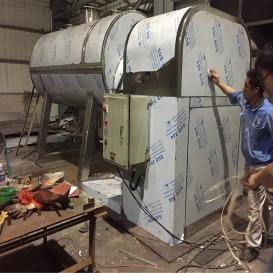 厂家直销真空耙式干燥机 搅拌低温真空干燥设备 间硝基专用干燥机