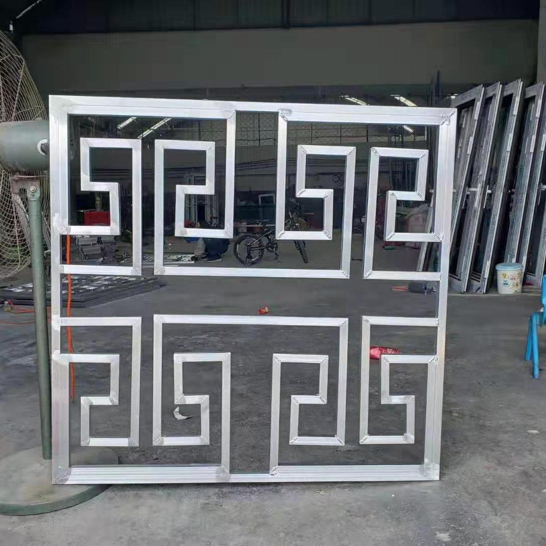鋒鈺金屬專業生產中式花格護欄、鋁藝花格護欄、鋁合金花格、中式花格、花格廊架、花格屏風