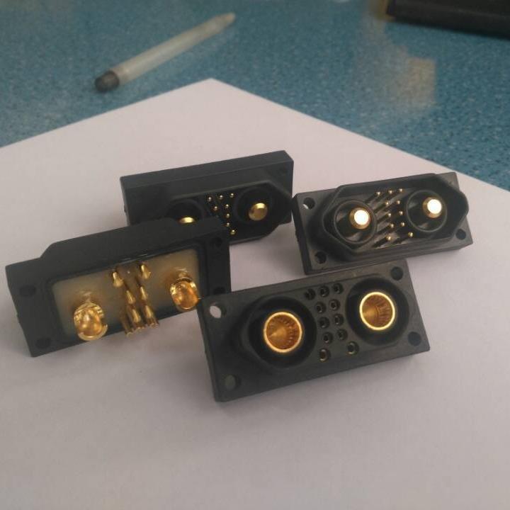 大電流連接器廠家 13w2 東普電子正規定做  采用冠簧插孔  可承受 90A以上電流