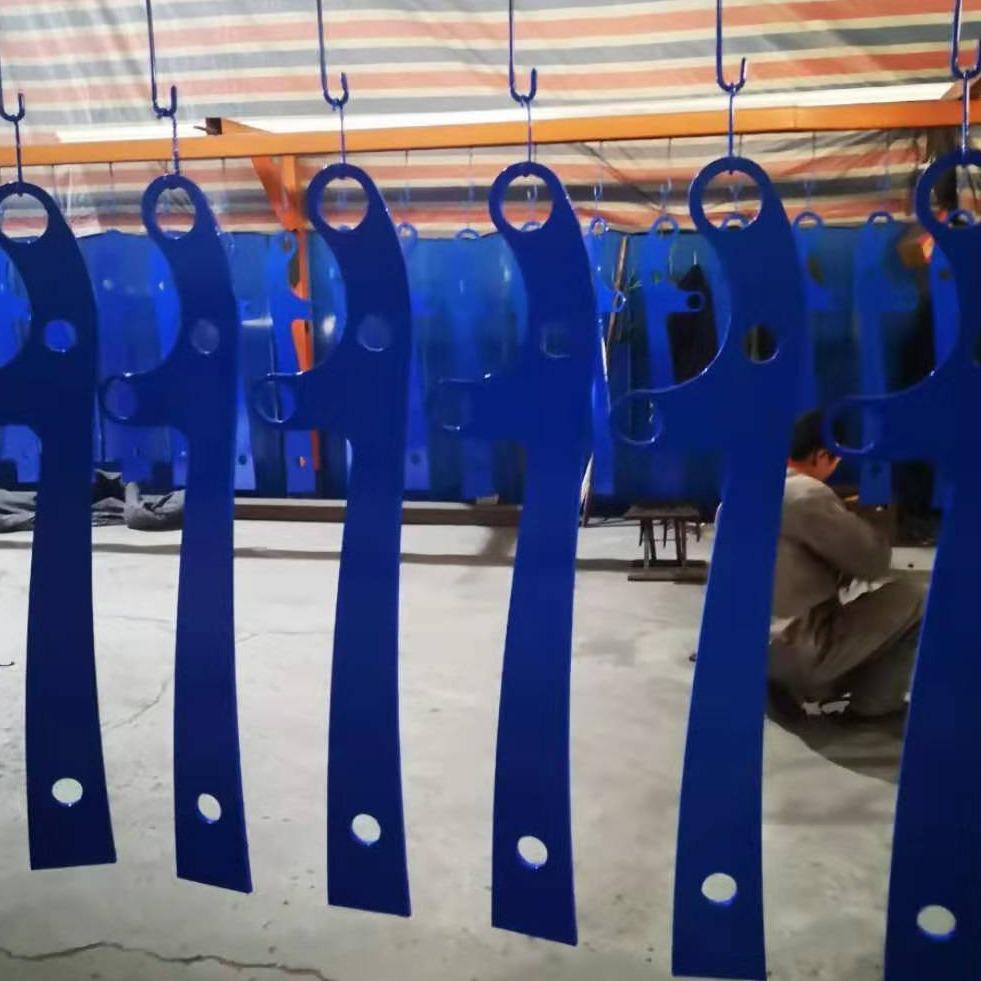 噴塑藍色橋梁立柱價格 大橋防撞欄桿生產廠家 橋梁護欄防撞立柱 不銹鋼復合管護欄立柱