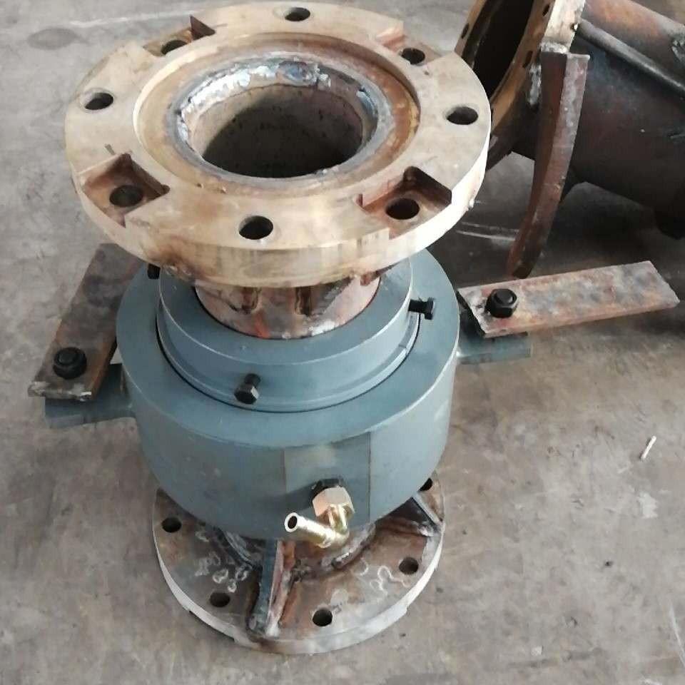 華力機械螺旋鉆桿旋轉接頭通氣管長螺旋鉆桿