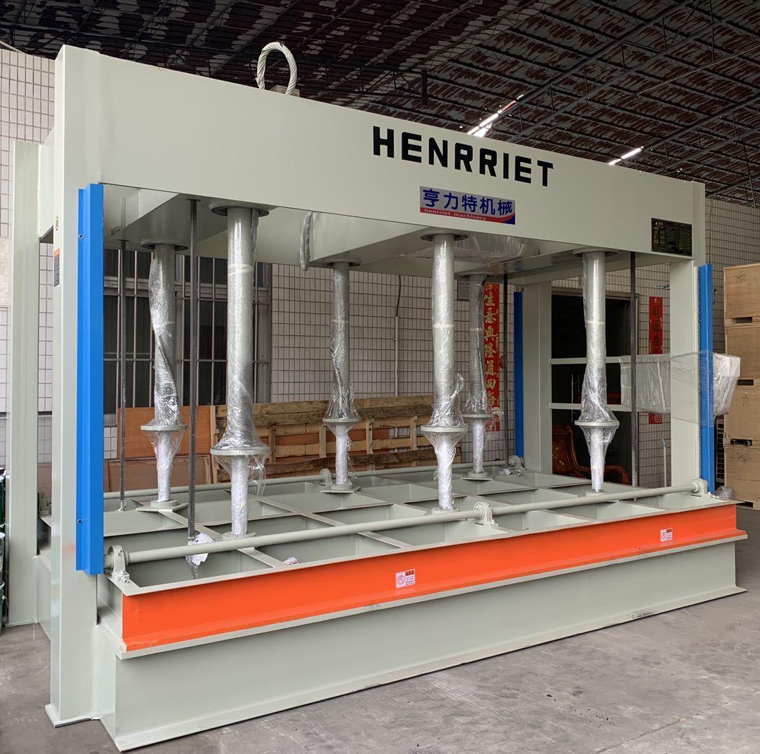 今日特價亨力特100噸大型防火門復合冷壓機,冷壓機寸非標可以定制,示例圖4