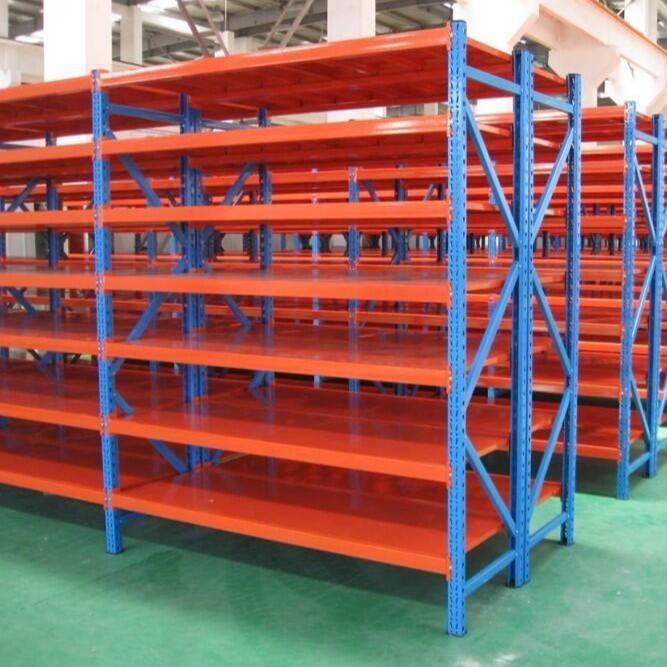 厂家定制 梦颖 仓储货架家用库房仓库储物架中型重型多功能置物架展示架轻型铁架
