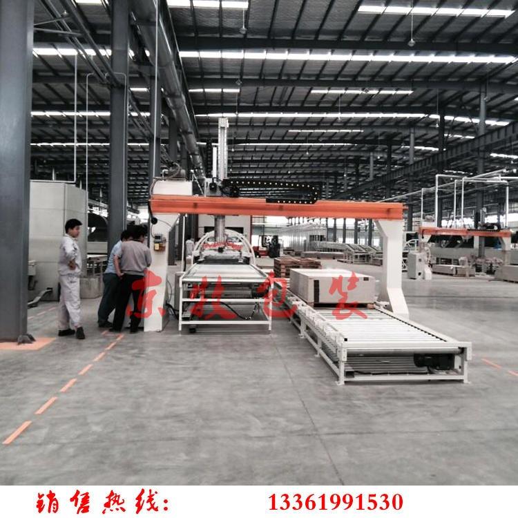 京牧板材码垛机 JM21-500门板木板钢板真空吸盘码垛机 龙门式板材墙体堆放机