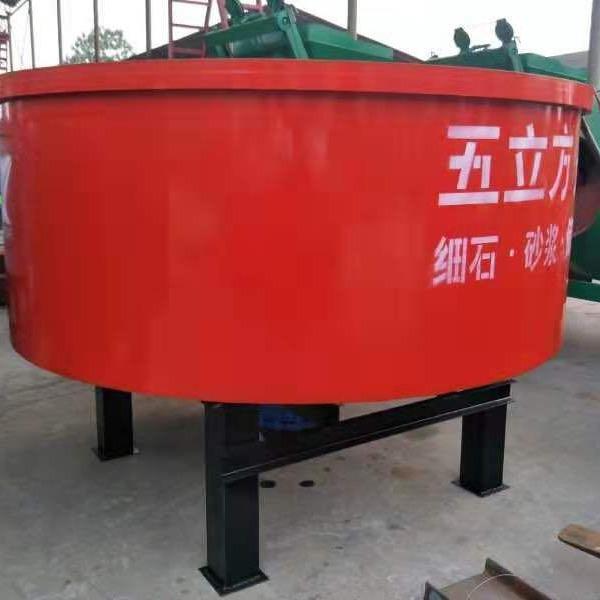 億順混凝土儲存罐 五立方灌 五立方砂漿攪拌機 大力王攪拌混凝土。