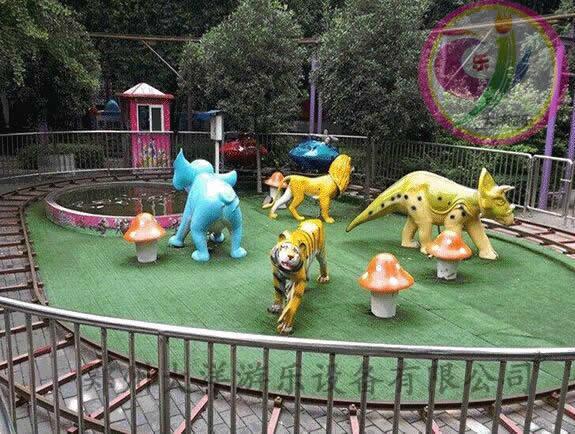 轨道追击儿童游乐设备 郑州大洋追击轨道游乐设施示例图4