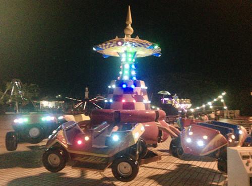 儿童游乐设备新款弹跳狂车飞舞 公园6臂旋转狂车飞舞大洋报价示例图6