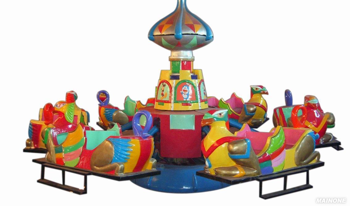 儿童游乐设备新款弹跳狂车飞舞 公园6臂旋转狂车飞舞大洋报价示例图4