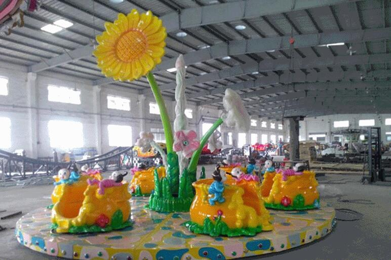 郑州大洋专业定制蜜蜂乐园给你不一样的娱乐体验 新款蜜蜂转杯示例图4