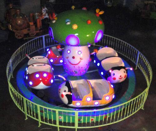 2020供应小型游乐设备儿童豪华瓢虫乐园 专业打造炫酷灯光瓢虫乐园示例图4