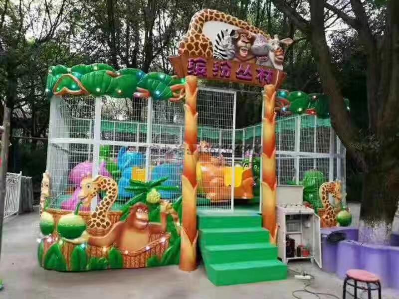 欢乐喷球车户外儿童游乐设备 大洋游乐厂家直销轨道欢乐喷球车示例图5